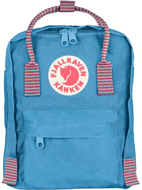 Fjällräven Kånken Mini Backpack air blue-striped